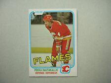 1981/82 O-PEE-CHEE NHL HOCKEY CARD #50 PEKKA RAUTIKALIO NM SHARP!! 81/82 OPC