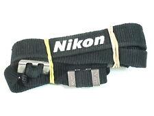 Genuine Original thin NIKON CAMERA neck STRAP for DSLR or 35mm SLR FM FM2 FM3