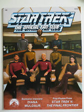Star Trek #66 Magazine 1989 1st Photos From The Final Frontier & More (M740)