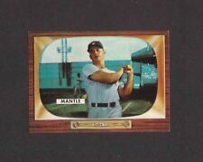 1996 Topps MICKEY MANTLE #5 of 19 1955 Bowman Reprint SWEEPSTAKES CONTEST CARD