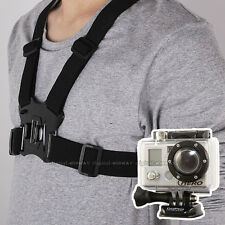 Chest Body Harness Adjustable Belt Strap For GOPRO Hero HD Go pro 1 2 3 4 3+ etc