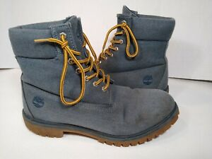 Timberland Men's Denim Hiking Boot Lace up Defender Water Repellent  size 11