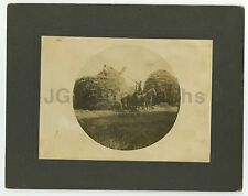 Early 20th Century Farming - Marion Power Shovel - Vintage Photograph