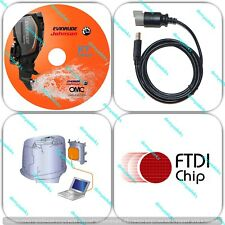 Diagnostic tool KIT with chip FT232RL for Evinrude E-tec Ficht outboard boat