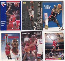DL1: Michael Jordan Basketball Card Lot (6)  91 & 92 Fleer, UD, Skybox - NMt-Mt