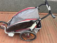 Chariot CX2 - Fahrradanhänger für zwei Kinder - gepflegter Zustand