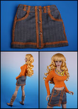 ☆~**Wraped skirt **~grey for Jessica [ EID IPLEHOUSE ]☆~BJD doll~by Anita