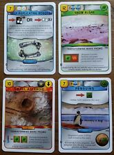 Terraforming Mars 4 Promo Card Set Small Asteroid, Snow Algae, Robots, Penguins
