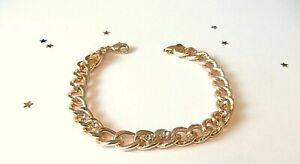 LADIES 9ct Yellow Gold Plate Bracelet
