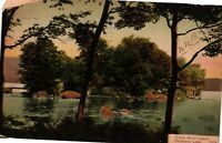 Vintage Postcard - Posted 1908 White Birch Island Oscawana Lake #3402