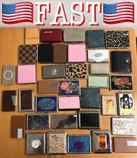 LOT OF 37 Pocket Cigarette Case Box Holder Case Cigar Cases - NEW!