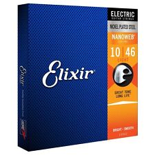 Elixir E12052 NANOWEB LIGHT Strings 10 - 46