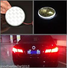 82mm White Badge Emblem LED Background Light Sticker For BMW 3 5 7 X Series