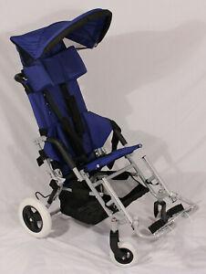 Stealth Lightning Pediatric Special Needs Stroller Wheelchair 16/18 seat/150 lb