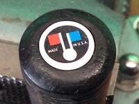 Wilson Staff 8802 Designed Palmer leather grip flags logo end cap medallions