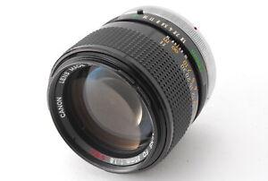 【MINT】Canon FD 85mm f/1.8 S.S.C. SSC Portrait Prime MF Lens From JAPAN