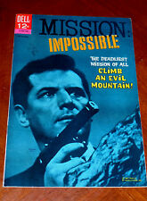 MISSION IMPOSSIBLE #2 (1967) VF-NM cond. (9.0) PHOTO cover TV Show