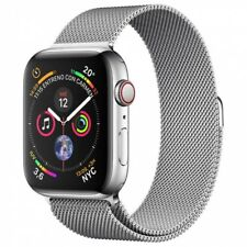 Apple Watch series 4 GPS Cellular 40mm Stainless Steel.
