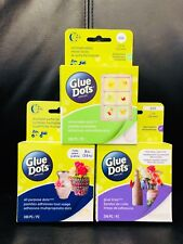 Glue Dots COMBO pack ~ ALL PURPOSE ~ GLUE LINES (1 inch Strips) ~ REMOVABLE DOTS