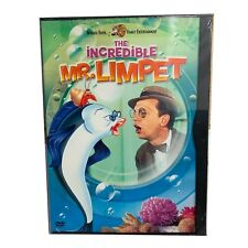 The Incredible Mr. Limpet (DVD, 2002, Snapcase) Don Knotts 1963 OOP