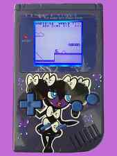 Custom Gameboy with Bivert Mod & white backlight, custom Pokemon Gothorita!