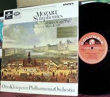 COLUMBIA UK LP SAX-2546: MOZART Symphonies Nos. 31 & 34 - KLEMPERER - 1964 UK