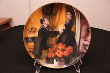 1989 Gone With The Wind The Proposal W.S. George Plate w/Coa