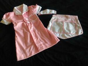 Melissa & Doug Pink 50s Diner Waitress Costume Play Dress-Up Car Hop Ages 3-6