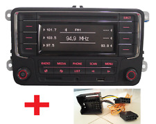 Autoradio VW RCN210 mit Bluetooth + ADAPTER CADDY JETTA GOLF Passat Tiguan EOS