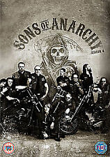SONS OF ANARCHY - SEASON 4 - DVD - REGION 2 UK