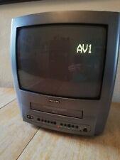 "Philips NO14PV111 14"" TV / VCR Combo NTSC / PAL VHS"