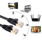 High Speed Cat7 Network LAN Cable SSTP RJ45 10Gbps Internet Flat Patch Cable