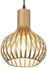 Popilion Antique Brass Metal Ceiling Pendant Light,Industrial Adjustable Pend...