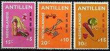 Netherlands Antilles 1971 SG#548-550 Home-Made Toys MNH Set #D34256