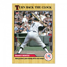 2021 MLB TOPPS NOW Turn Back The Clock  177  Mickey Mantle - PREORDER