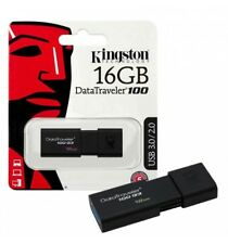 KINGSTON PEN DRIVE USB3.0 DATA TRAVELER 100 G3 16GB BLACK DT100G3/16GB