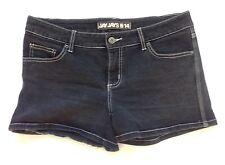 Ladies size 14 Charcoal/Black denim shorts - Jay Jays