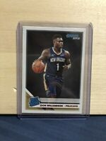 2019-20 Panini Donruss Zion Williamson Rated Rookie Card #201 Pelicans RC