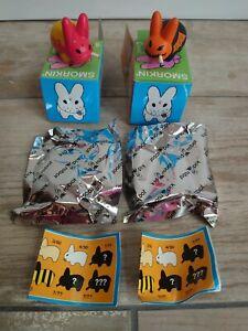 Kidrobot Smorkin' Labbits Kozik Very Good Condition Series 3 w/ Boxes And Bags