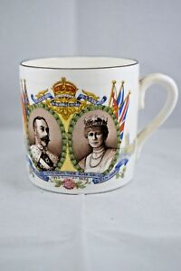 AYNSLEY KING GEORGE V AND QUEEN MARY SILVER JUBILEE COMMEMORATIVE CUP