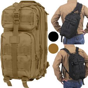 Tactical Cross Body Medium Transport Sling Pack Bag Convertible Backpack