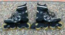 New listing $400 K2 Carbon Mens 8.5 Rollerblades Fitness Inline Roller Skates Nike Seba Aeon