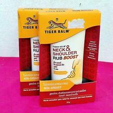 2x50gTubeTiger Balm Neck Shoulder Rub Boost Strength Pain Relief Massage muscle