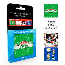 Friends TV Series Coaster Set Central Perk Gift New Official Licensed Product