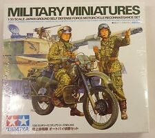 TAMIYA 1/35 JGSDF Japanese Military Motorcycle Recon Set with Figures 35245