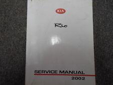 2002 KIA Rio Service Repair Shop Workshop Manual FACTORY FEO 2002
