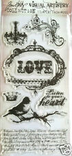 Tim Holtz Visual Artistry Clear Stamps URBAN GRUNGE