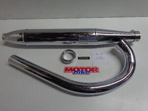 Montesa impala 175 exhaust silent tube elbow new