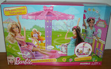 Brand New Barbie SISTERS' TWIRL & SPIN RIDE PLAYSET With STACIE