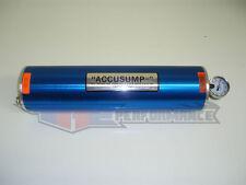 """Canton 3 Quart QT Accusump Engine Oil Accumulator Aluminum Blue Three 16"""" x 4.25"""